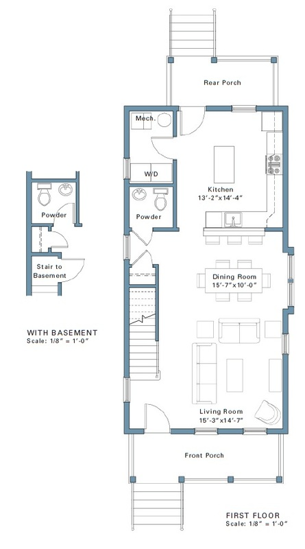 Hays Street Floor Plans - Pittsburgh Renovations & New Construction
