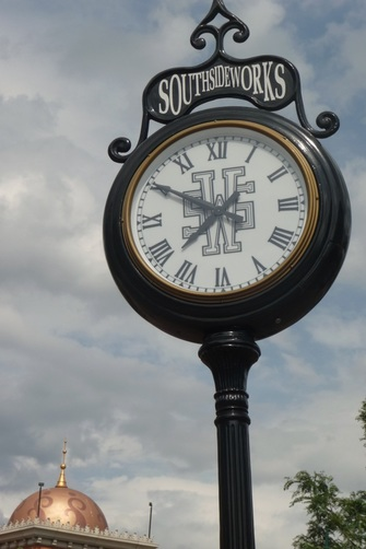 The Clock at Pittsburgh's South Side Works